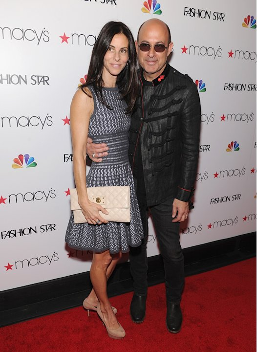 Joyce Varvatos and John V …