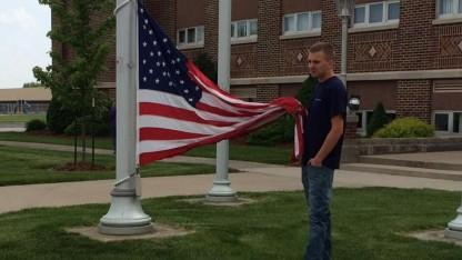 The Stars and Stripes Forever: Teen Saves American Flag Lying on the Ground