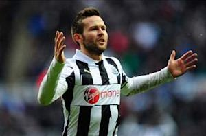 No bids for Cabaye, says Newcastle boss Pardew