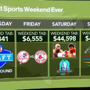 $47K: Cost to Attend All the Weekend's Big Sports Events