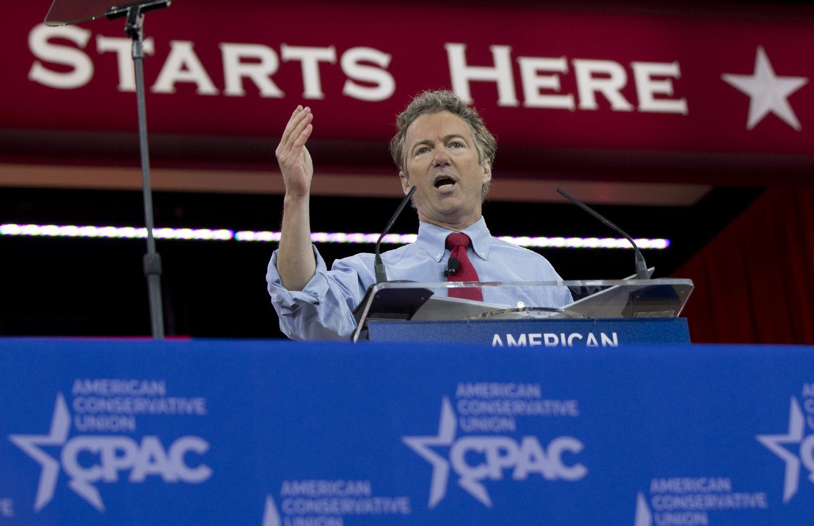 Rand Paul wins CPAC straw poll, Scott Walker close second