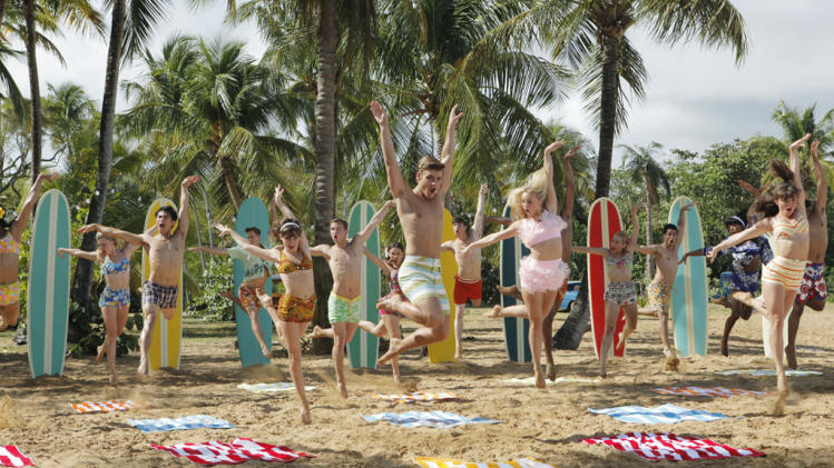 """Teen Beach Movie"" - Kent Boyd, Garrett Clayton, Mollee Gray"