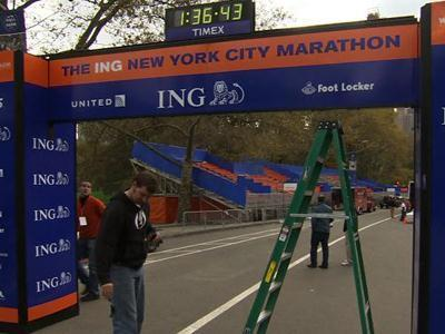 Hurricane won't stop NYC Marathon