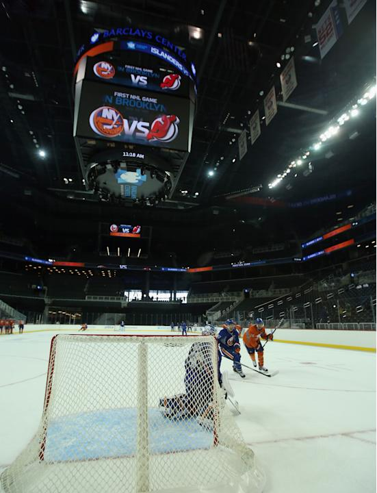 New York Islanders Training Session