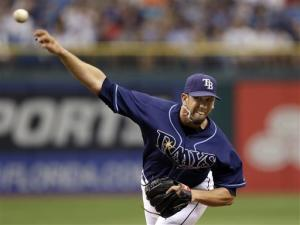 Shields leads Rays past Yankees, tightens AL East