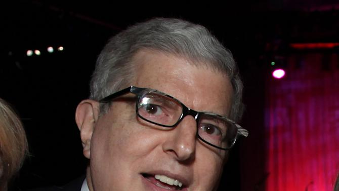 In this Nov. 8, 2011 file photograph  originally released by Cedars-Sinai Medical Center shows composer Marvin Hamlisch at the Cedars-Sinai Board of Governors Gala at The Beverly Hilton Hotel in Beverly Hills, Calif. The Juilliard School is planning a star-filled private musical tribute to Marvin Hamlisch that includes Barbra Streisand, Aretha Franklin and Liza Minnelli. The composer, who became the youngest person accepted by Juilliard at age 7, died Aug. 6 in Los Angeles. The memorial will be held Tuesday night at the school's Peter Jay Sharp Theater. (AP Photo/Cedars-Sinai Medical Center, Alex J. Berliner, file )