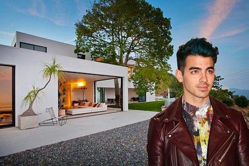 Joe Jonas is Airbnbing a Mod Mansion in the Hollywood Hills For $2,600 a Night