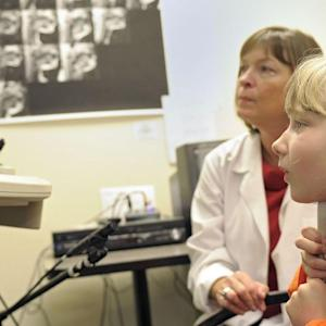 Ultrasound Probes Used for Children's Speech Therapy