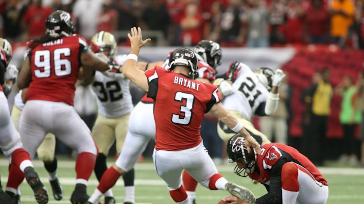 Matt Ryan, Matt Bryant lead Falcons to upset of rival Saints