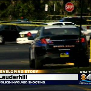 BSO Investigate Lauderhill Police-Involved Shooting