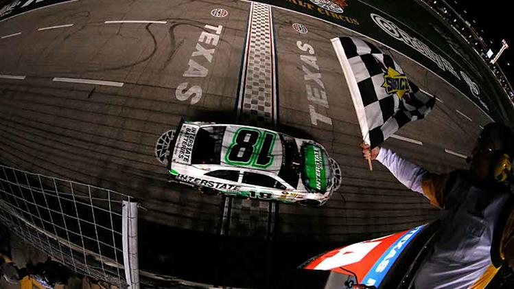 Final Laps: Kyle Busch Sweeps Texas Motor Speedway
