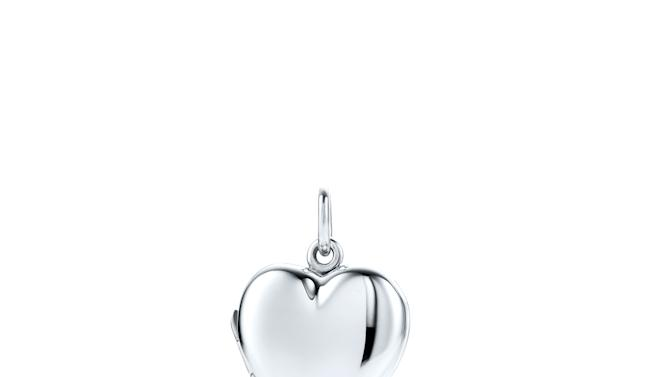 This image released by Tiffany's shows a sterling silver heart key locket. (AP Photo/Tiffany's)