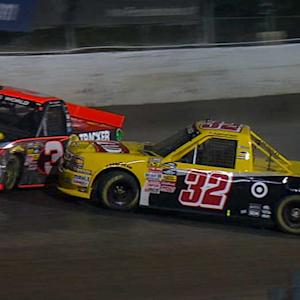 Dillon, Larson tangle, No. 3 penalized