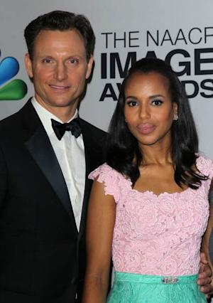 Tony Goldwyn and Kerry Washington -- Getty Images