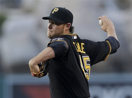 Gerrit Cole pitches Pirates past Angels 5-2