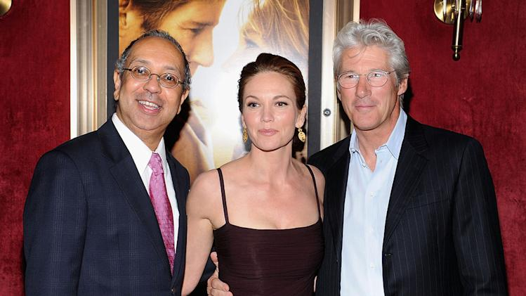 Nights in Rodanthe NY Premiere 2008 George C Wolfe Diane Lane Richard Gere