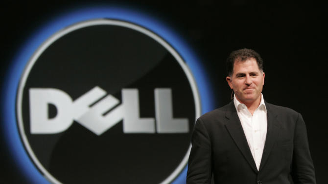 FILE - In this Wednesday, Nov. 14, 2007 file photo, Dell CEO Michael Dell smiles at Oracle Open World conference in San Francisco. Dell Inc. is making a late push to win shareholder support for founder Michael Dell's plan to take the slumping computer maker private, an indication that the scheduled vote, Thursday, July 18, 2013, could be close. Supporters of the $24.4 billion buyout believe Dell Inc. stands a better chance of turning around if it can make long-term strategic decisions without worrying about meeting Wall Street's quarter-to-quarter expectations. (AP Photo/Paul Sakuma, File)