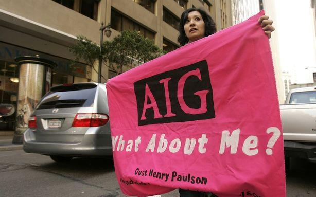 AIG Is Thinking About Suing the Government for Bailing It Out