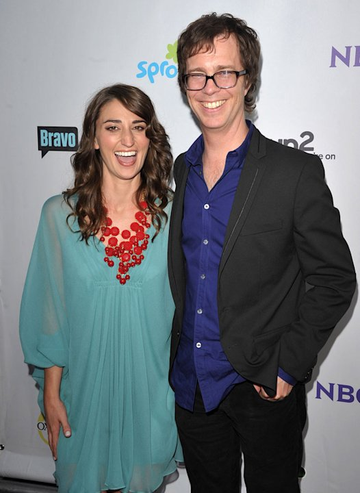 Sarah Bareilles and Ben Folds of &quot;The Sing-Off&quot; attend the NBC Universal Summer TCA 2011 All-Star Party at the SLS Hotel on August 1, 2011 in Los Angeles, California. 