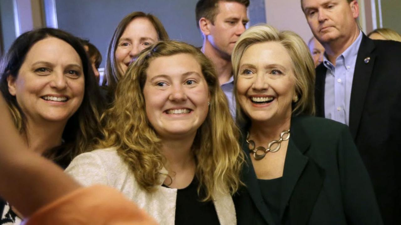 Hillary Clinton Campaign Kicks Off in Iowa