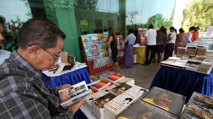 International literary festival opens in Myanmar