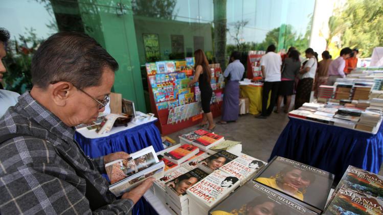 International literary festival opens in Myanmar