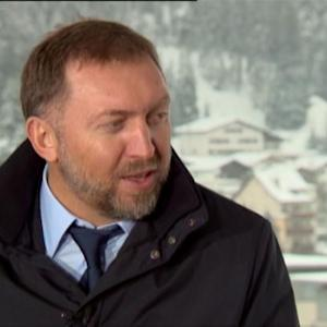 Deripaska Sees `Tough Time' in Russia for Next 9 Months