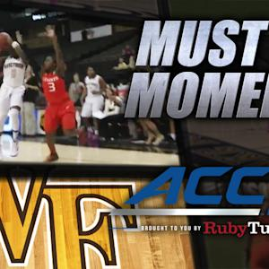 Wake's Campbell Hits Game-Winning Buzzer Beater | ACC Must See Moment