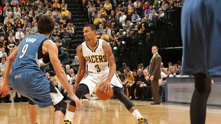 Pacers roll past Timberwolves 98-84 to go 13-1