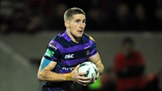 Sam Tomkins was sin-binned in Wigan's win