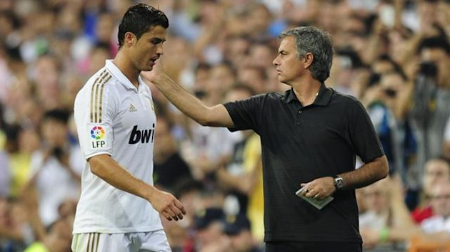 Jose Mourinho and Ronaldo