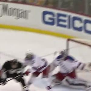 Hornqvist's deflection trickles by Lundqvist