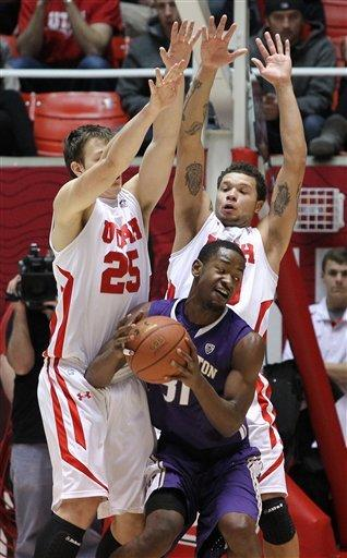 Ross helps Washington defeat Utah 57-53