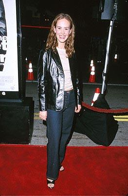 Premiere: Sarah Paulson at the Mann's Bruin Theater premiere of Warner Brothers' Get Carter - 10/4/2000