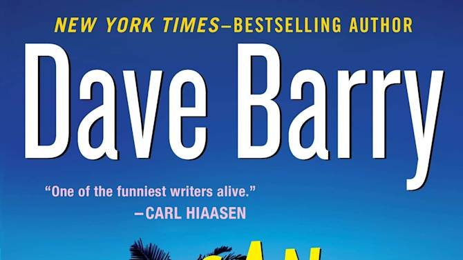 """This book cover image released by Putnam shows """"Insane City,"""" a novel by Dave Barry. (AP Photo/Putnam)"""