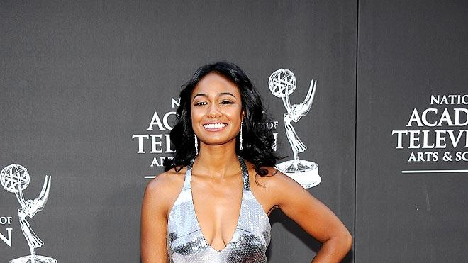 Tatyana Ali attends the 36th Annual Daytime Emmy Awards at The Orpheum Theatre on August 30, 2009 in Los Angeles, California.