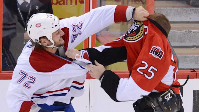 Senators upend Canadiens 5-2