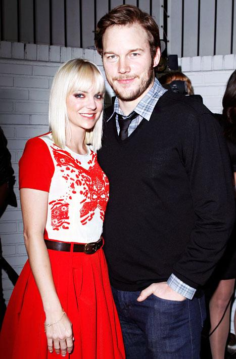 "Chris Pratt on Anna Faris: ""I Married Way Out of My Pay Grade"""