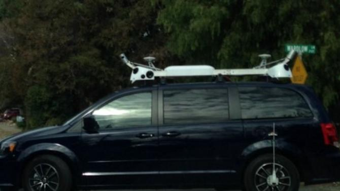 Apple's mysterious vans are reportedly part of a project to make 3D maps