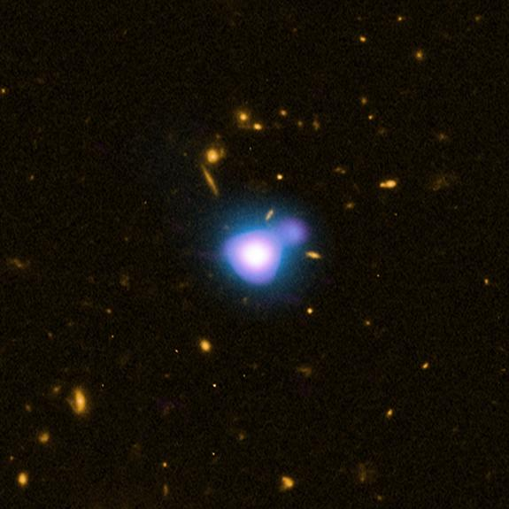 Most Distant Black Hole X-Ray Blast Discovered