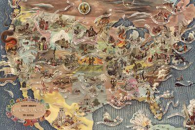 America's key historical events, in one map