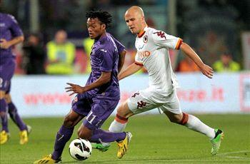 Fiorentina 0-1 Roma: Last-gasp Osvaldo leaves Viola's Champions League hopes in tatters