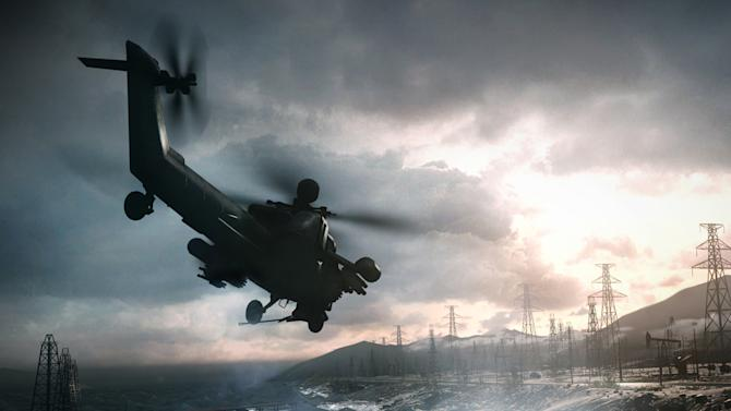 """This video game image released by Electronic Arts shows a scene from """"Battlefield 4."""" (AP Photo/Electronic Arts)"""