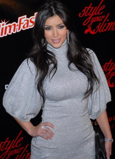 Kim Kardashian putting on the pounds in her newest pictures?