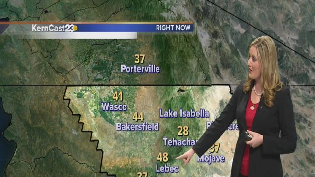 Friday: sunny and even warmer temperatures