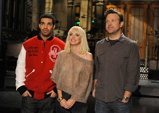 "Anna Faris hosted, but Drake made this ""SNL"" one to remember (Dana Edelson/NBC)"