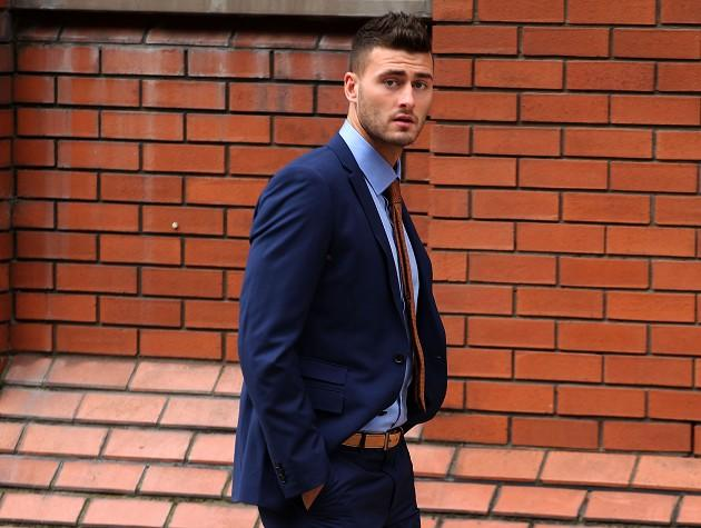Sheffield Wednesday footballer Gary Madine has been convicted of punching two men in separate nightclub attacks