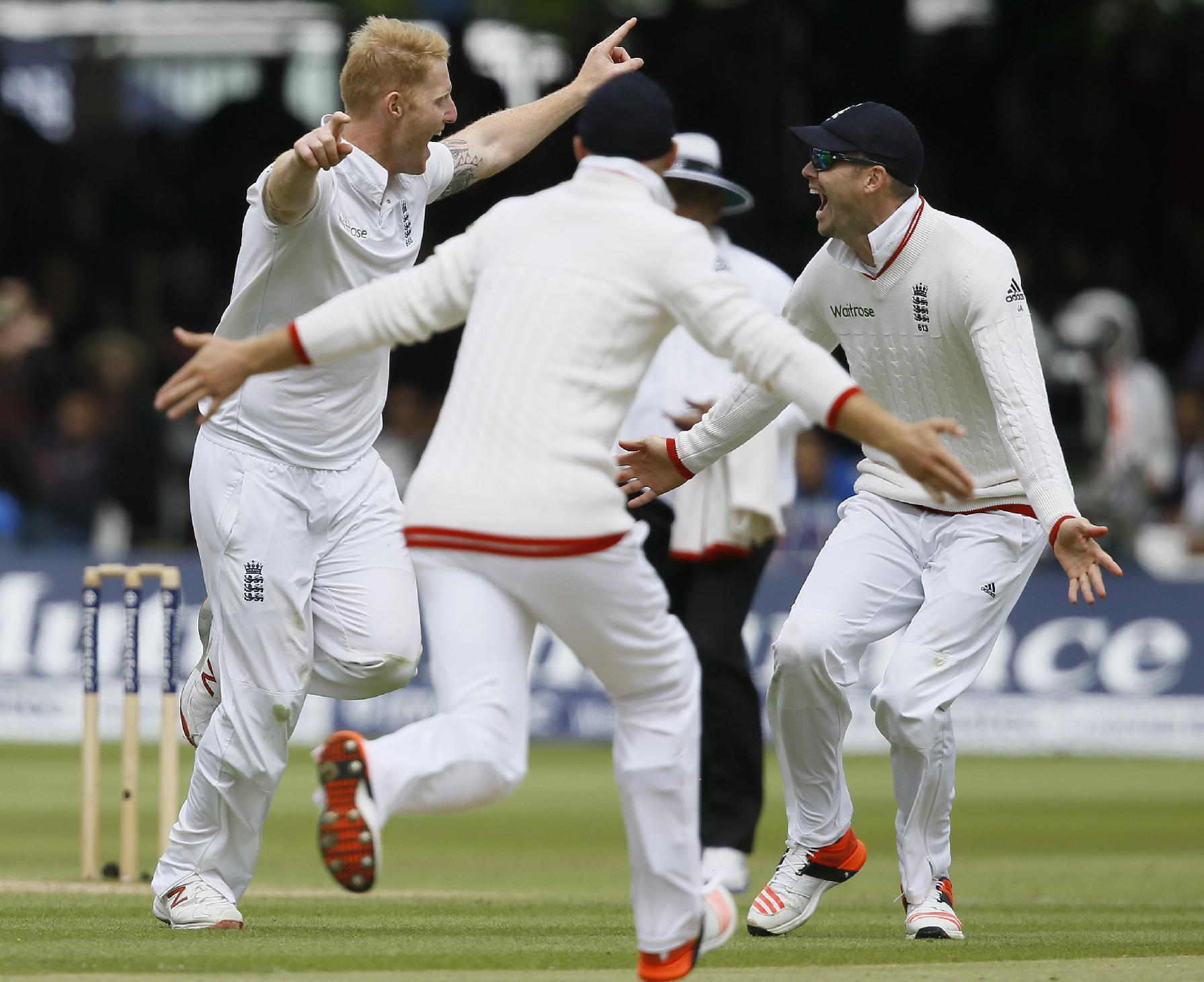 England beat NZ by 124 runs in 1st test at Lord's