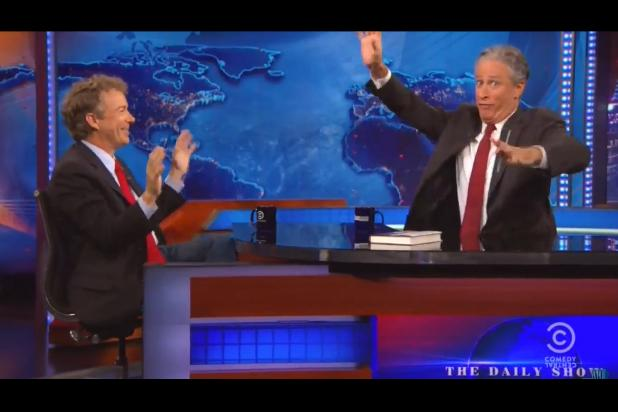 Rand Paul Tells Jon Stewart 'First Amendment Is About the Right to Be Despicable' (Video)