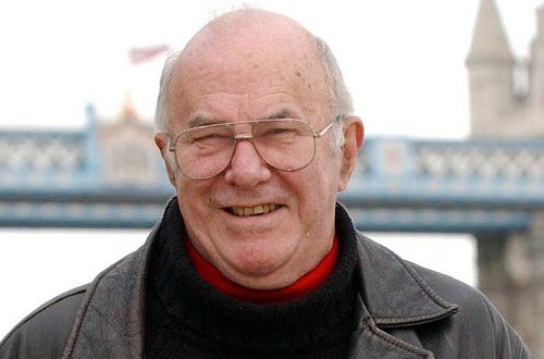 TV presenter and author Clive James